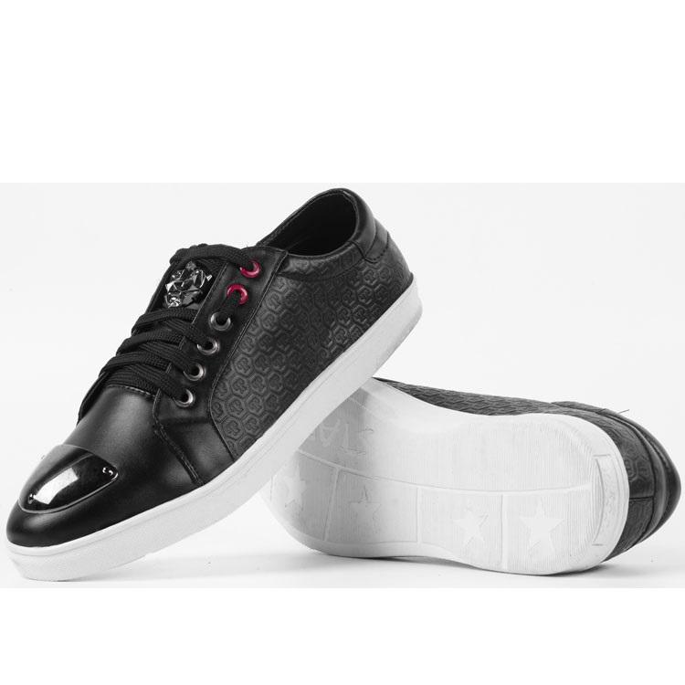 Giày sneaker thời trang Zapas - PL001 (Đen)