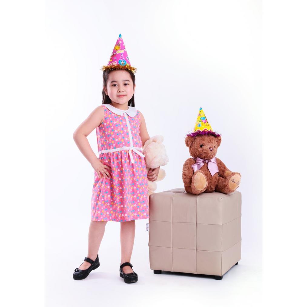 Đầm bé gái Ugether UKID36 (Hồng)