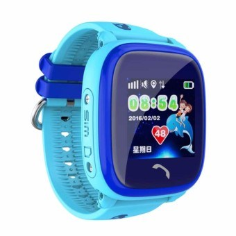 Đồng hồ định vị GPS Wonlex GW400S chống nước IP67 (xanh dương)