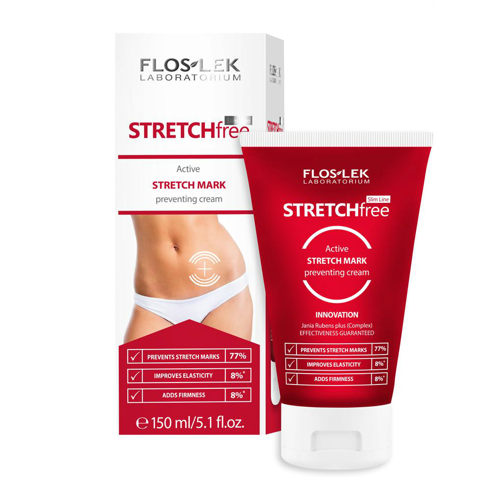 Kem ngăn ngừa rạn da Stretch Free active stretch mark preventing cream