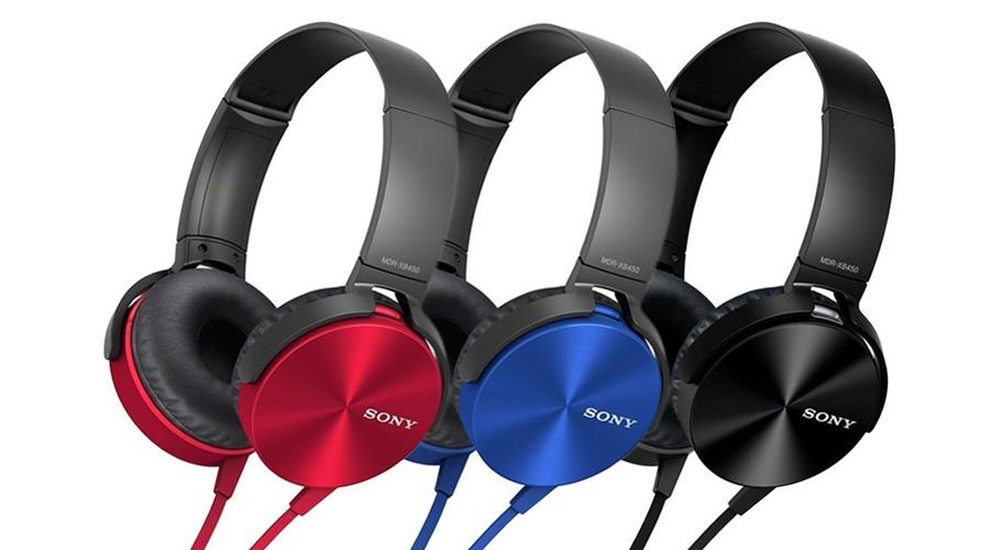 Tai nghe Sony có dây MDR-XB450AP