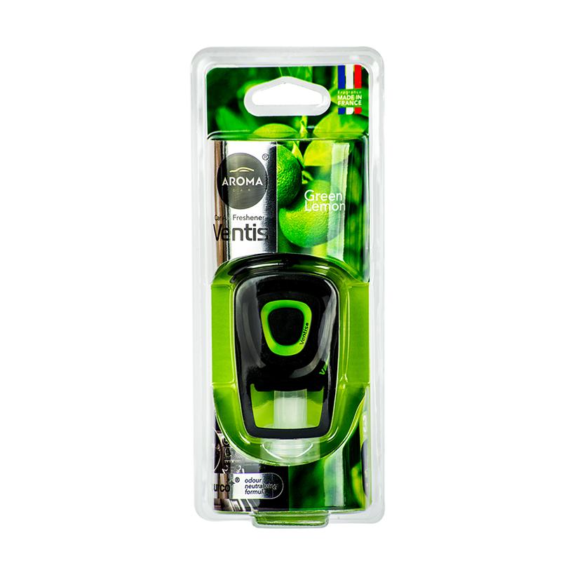 Kẹp cửa gió ô tô Aroma Car Ventis 8ml - Lemon Green (hương chanh)
