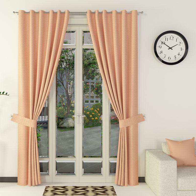Rèm vải chống nắng TITA (Ngang 135cm x Cao 220cm) màu Petal PT143-017