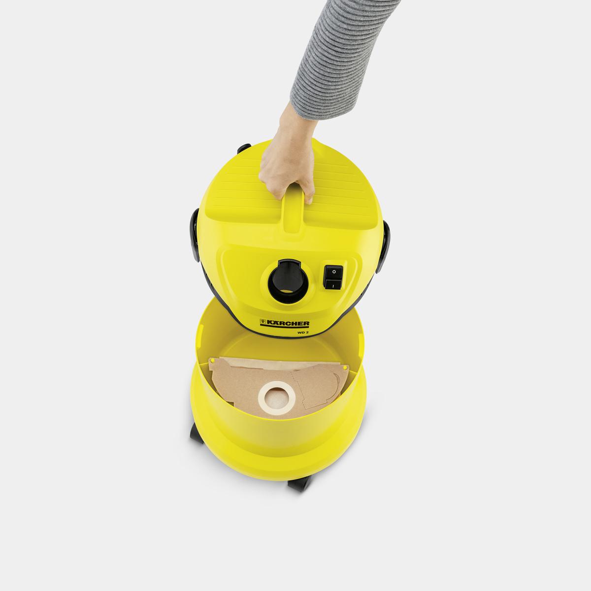 Túi lọc bụi cho máy WD 2 Cartridge Filter Kit