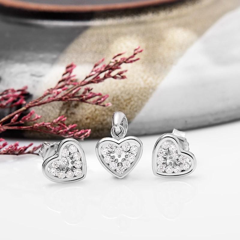 Bộ trang sức bạc Azir Love