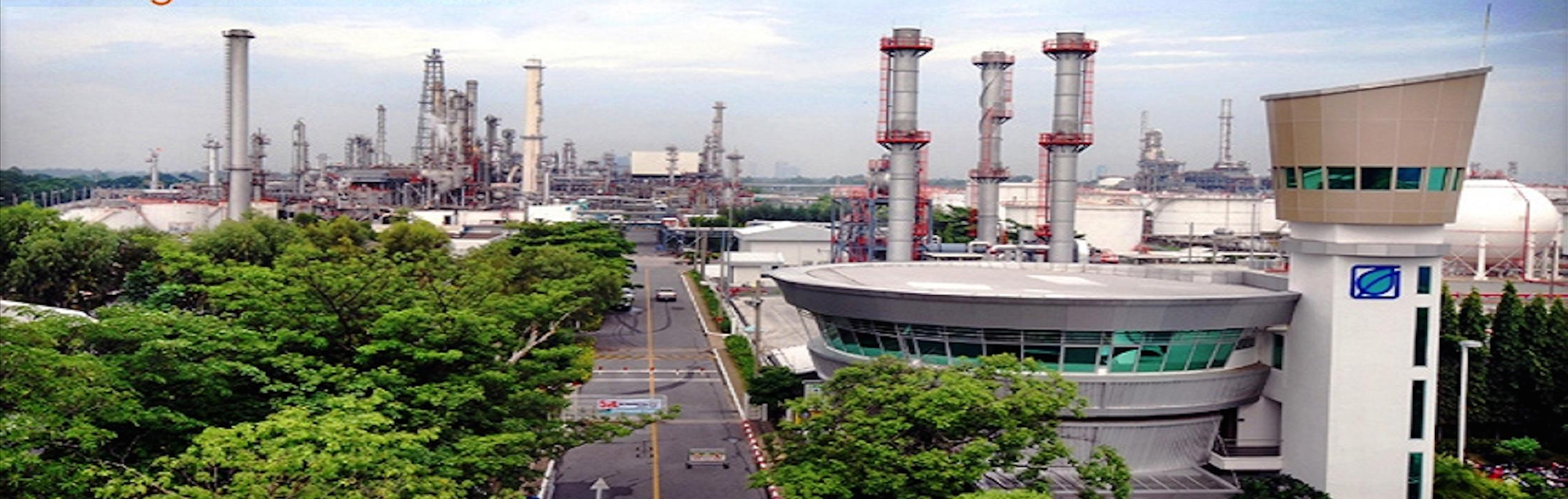 Một góc nhà máy tinh chế của Bangchak