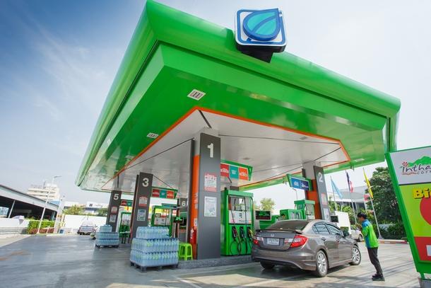 các trạm xăng thương hiệu BCP trải dài khắp Thái Lan cùng chuỗi café và siêu thị mini phục vụ khách dừng chân