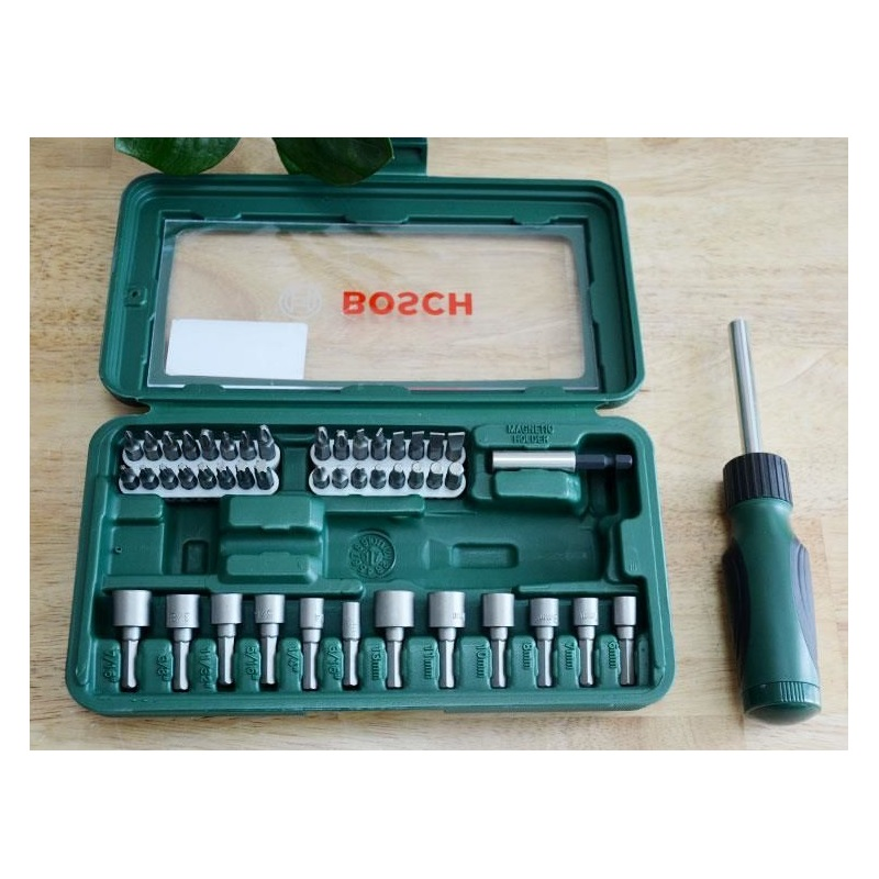 Bộ vặn vít đa năng 46 pcs Bosch