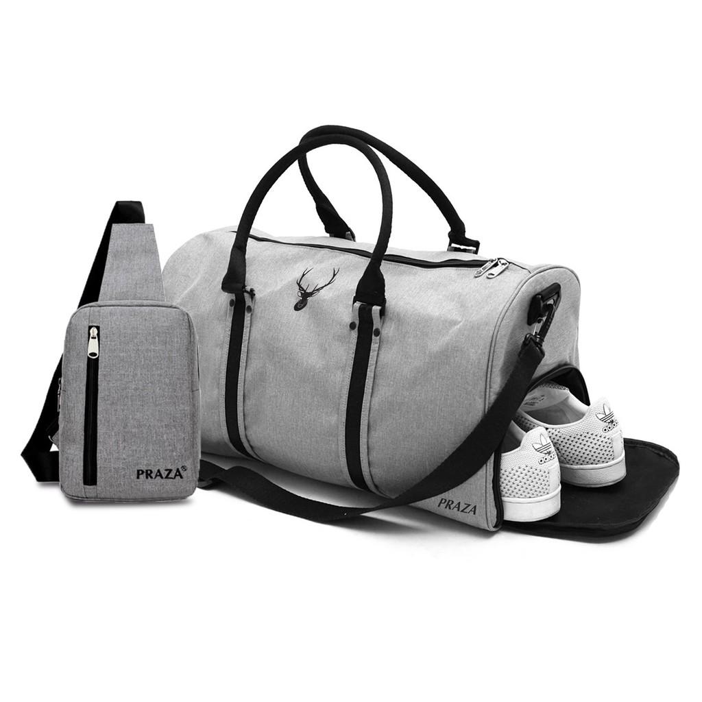 Combo túi xách du lịch và túi đeo chéo Praza – TX078DC095