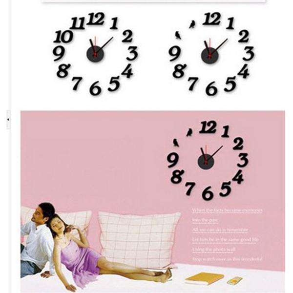 Đồng hồ số đen DH25