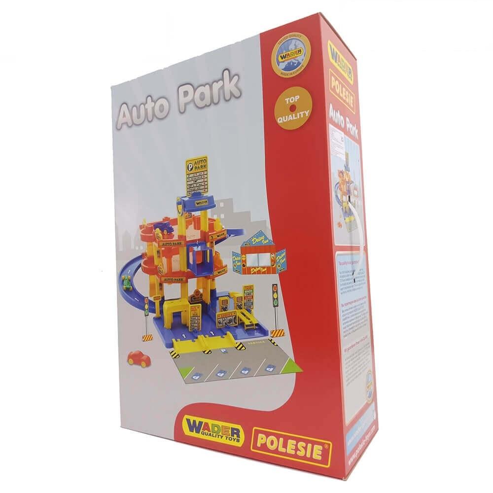bộ đồ chơi trẻ em bãi đỗ xe 3 tầng Wader Polesie Toys
