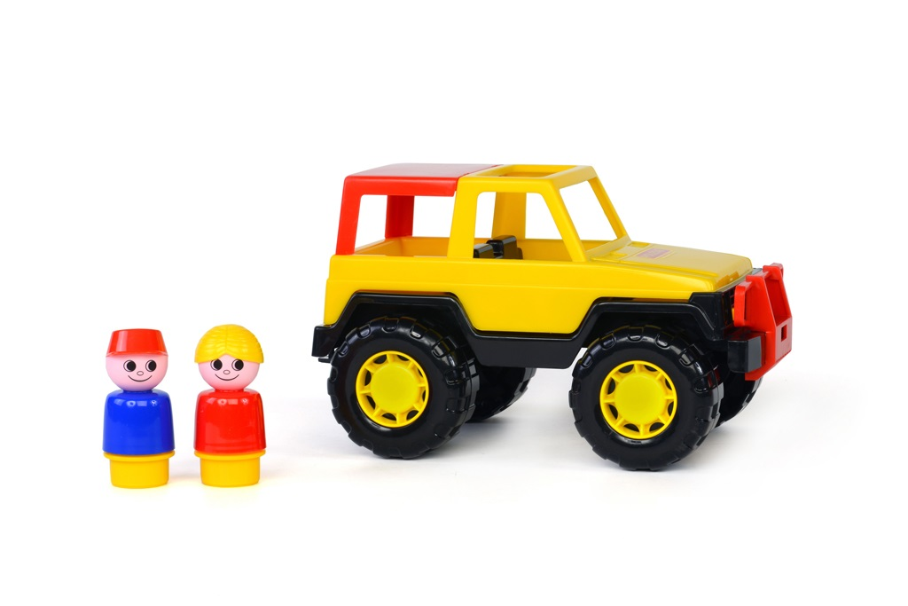 xe jeep safari đồ chơi Cavallino Toys Polesie