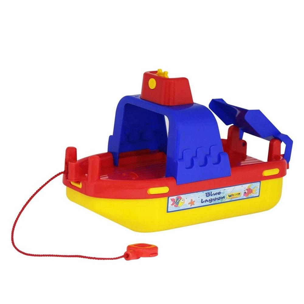 tàu phà vận chuyển Laguna đồ chơi Wader Quality Toys
