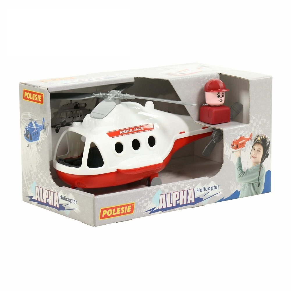 máy bay trực thăng cứu thương Alpha Polesie