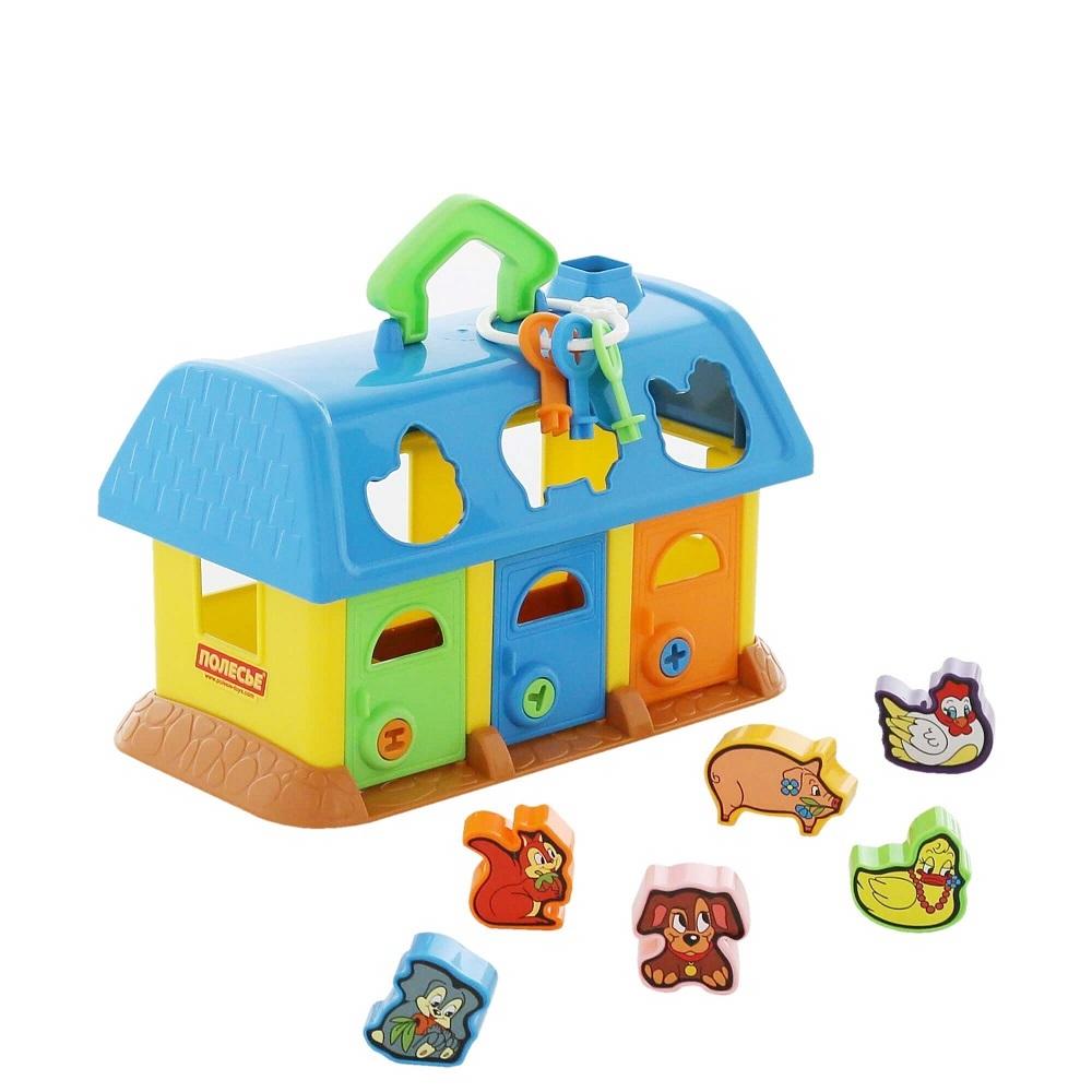 bộ đồ chơi ngôi nhà thú cưng Polesie Toys