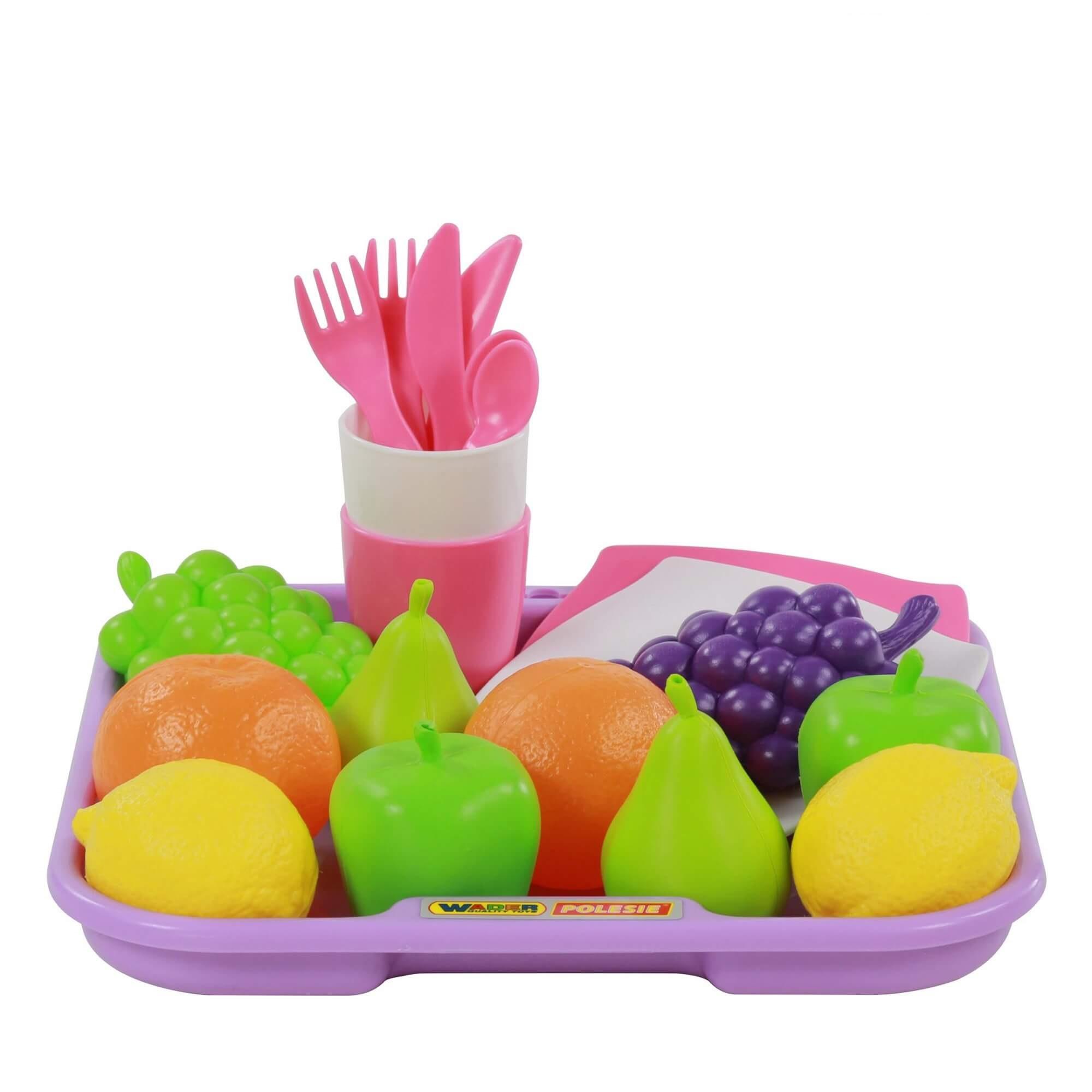 bộ đồ chơi hoa quả số 2 ( 21 chi tiết ) palau toys