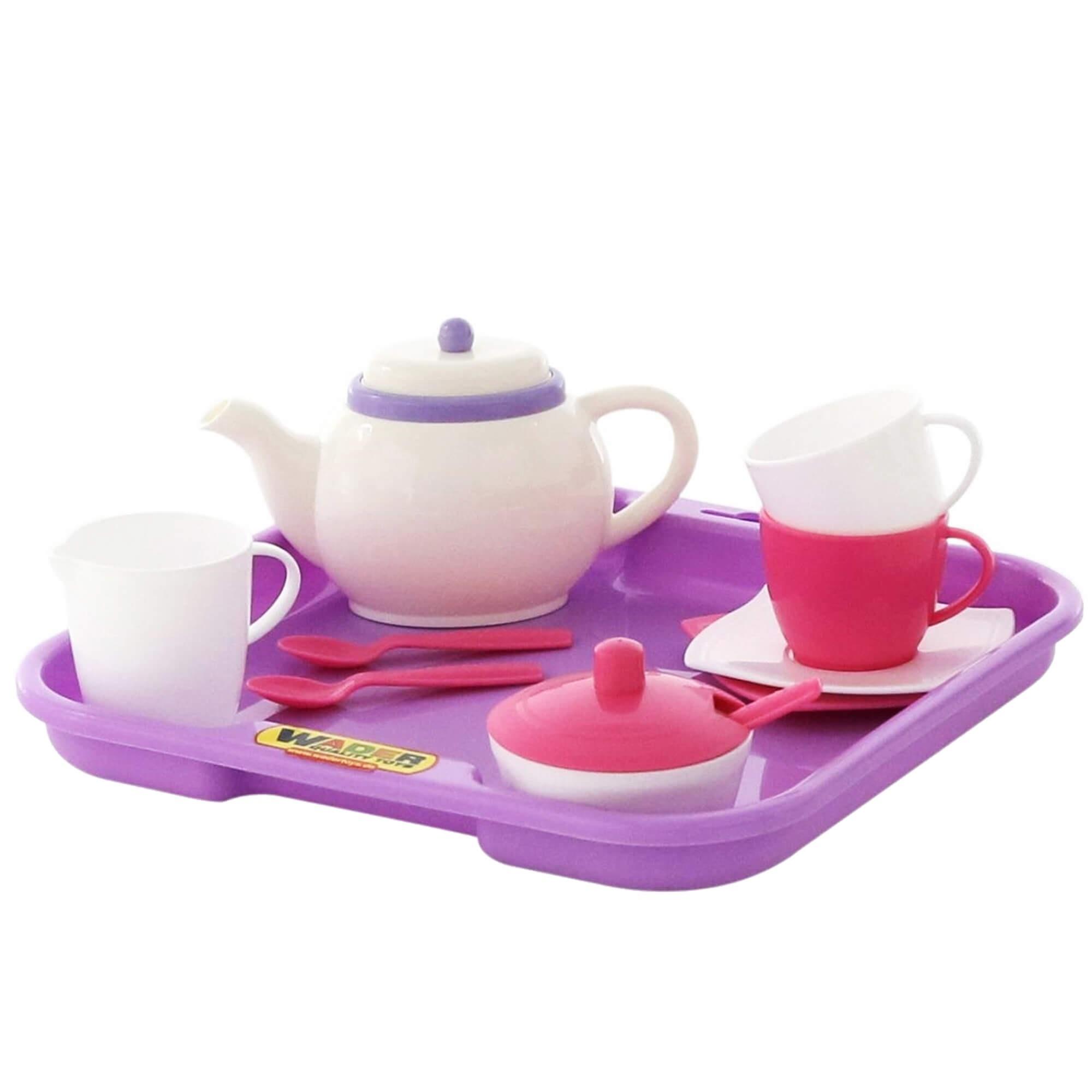 Bộ đồ chơi pha trà Alice cho 4 người ( 35 chi tiết ) Wader Toys