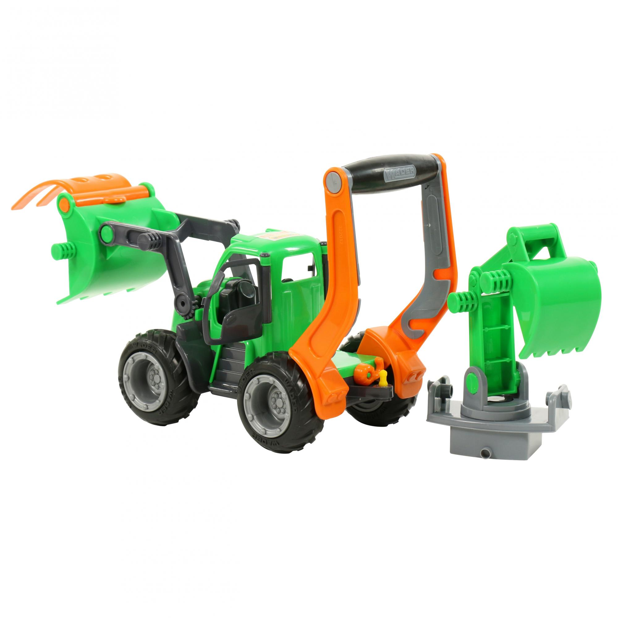 Máy xúc Griptrac đồ chơi Wader Toys