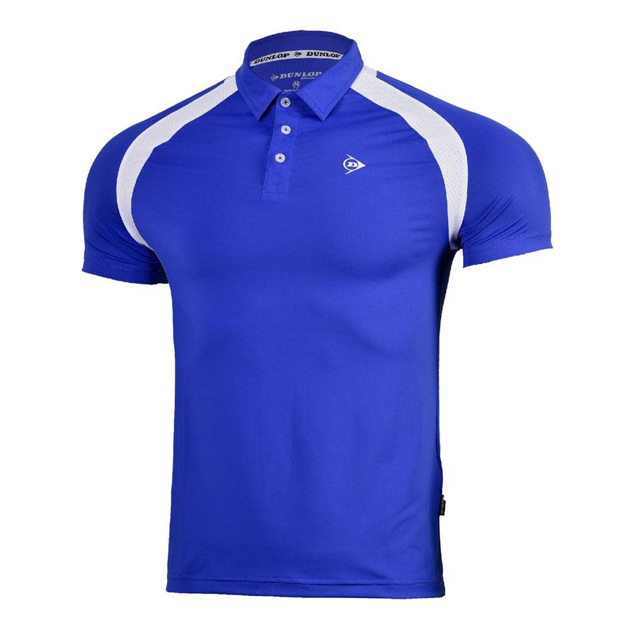 Áo Tennis Nam Dunlop - DATES8091-2-CB (Xanh Coban)