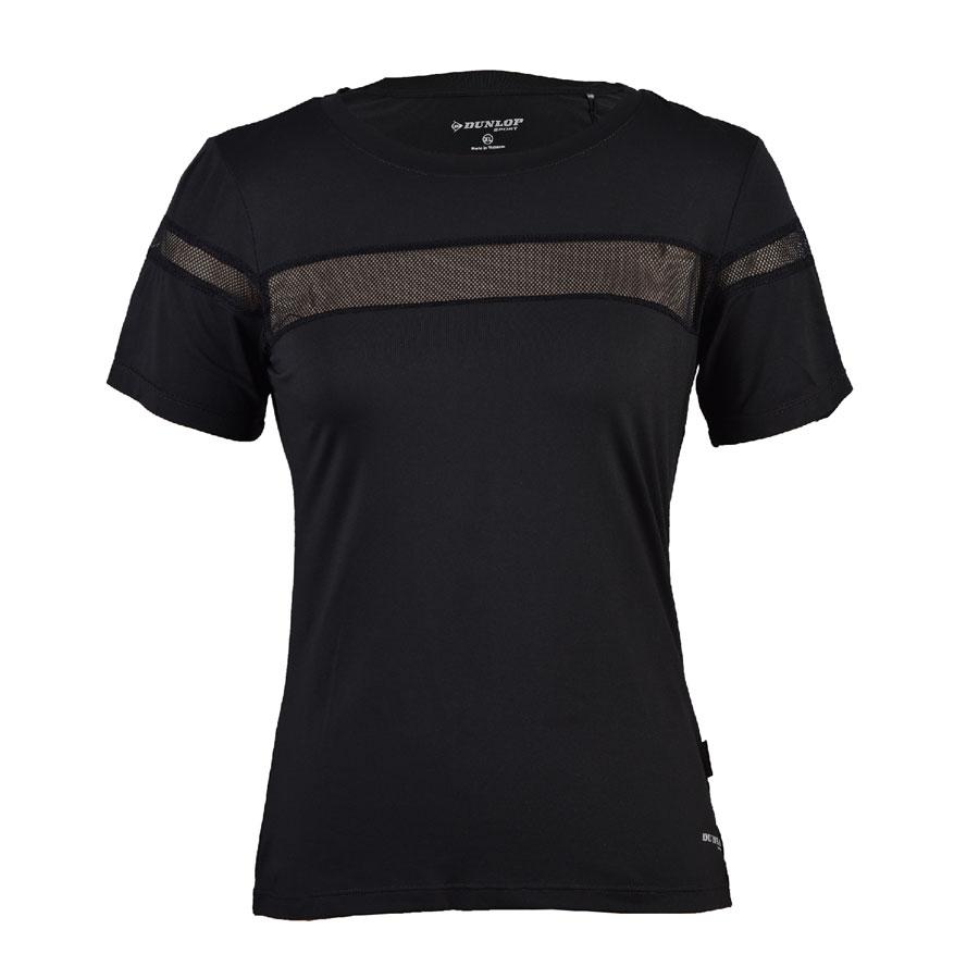 Áo thể thao Nữ Dunlop - DAGYS8126-2-BK (Đen)