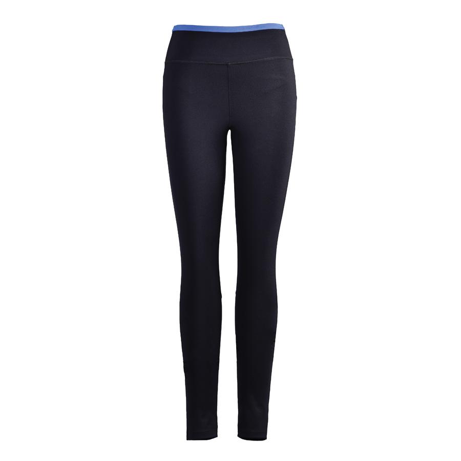 Quần Gym Nữ Dunlop - DQGYS8110-2D-CL (đen - cạp xanh)