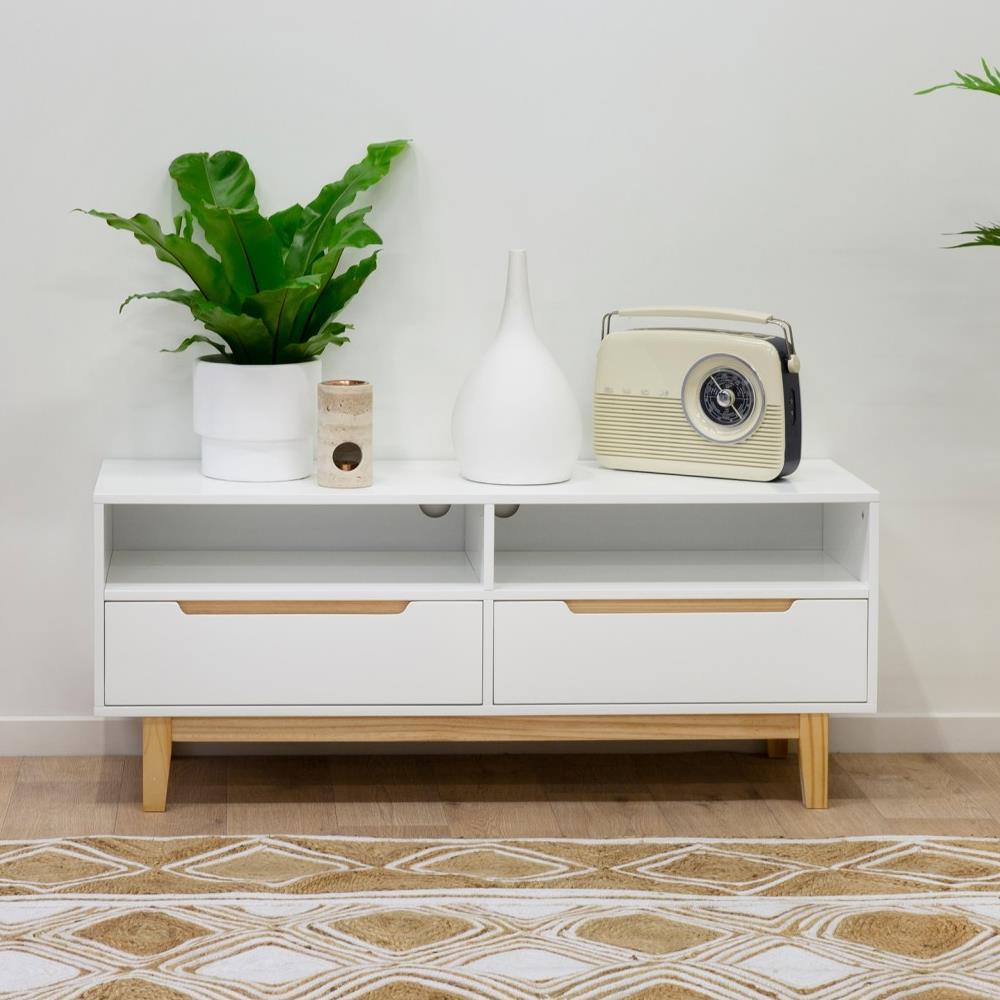 Tủ trang trí loại nhỏ Mari gỗ cao su – Cozino