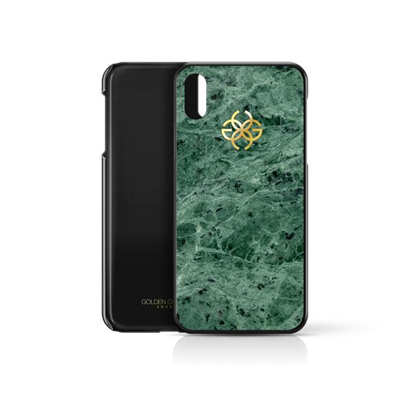 Ốp điện thoại iphone Xs Max đá cẩm thạch xanh