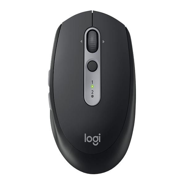 Chuột không dây Bluetooth + Wireless Logitech Wireless M590 (Đen)