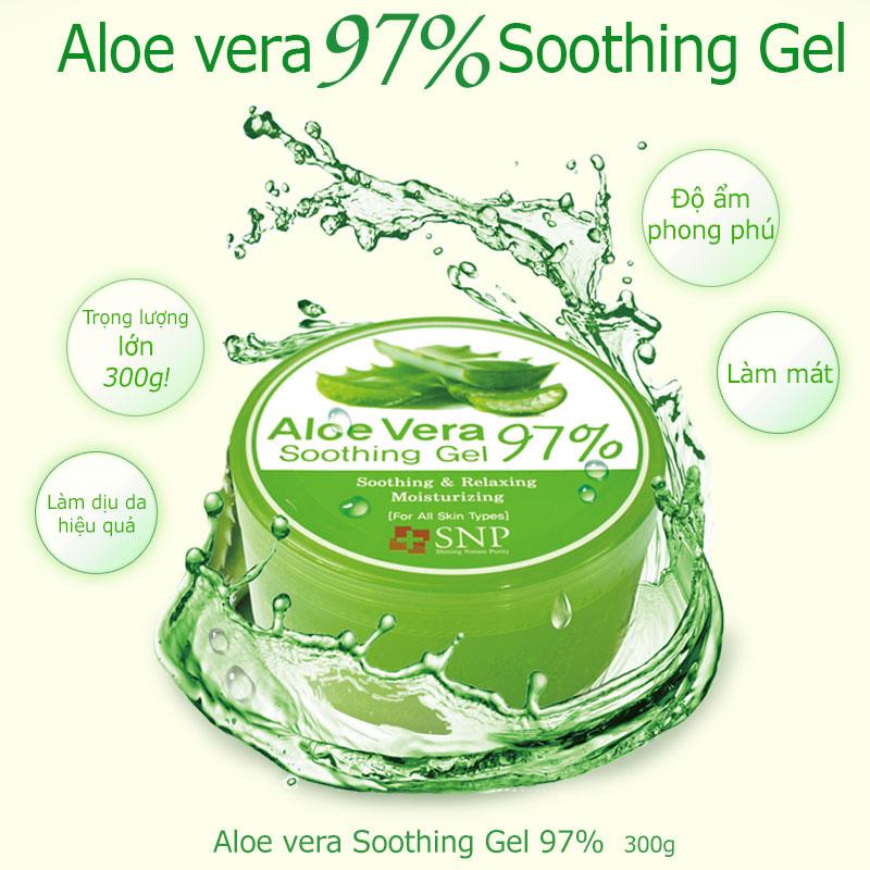 Gel dưỡng ẩm chiết xuất lô hội - Aloe Vera Soothing Gel