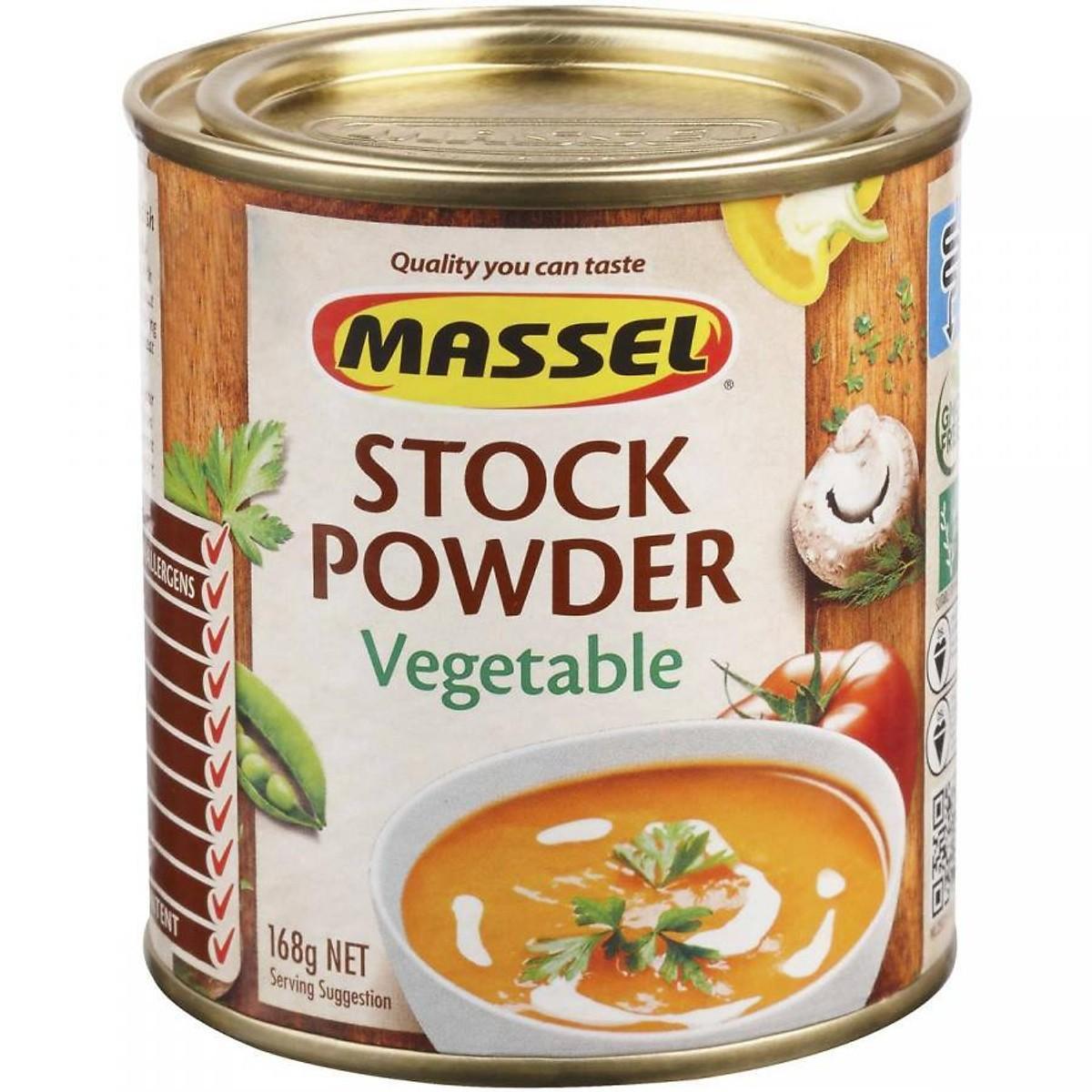 Hạt nêm Massel vị rau củ 100% không bột ngọt của Úc