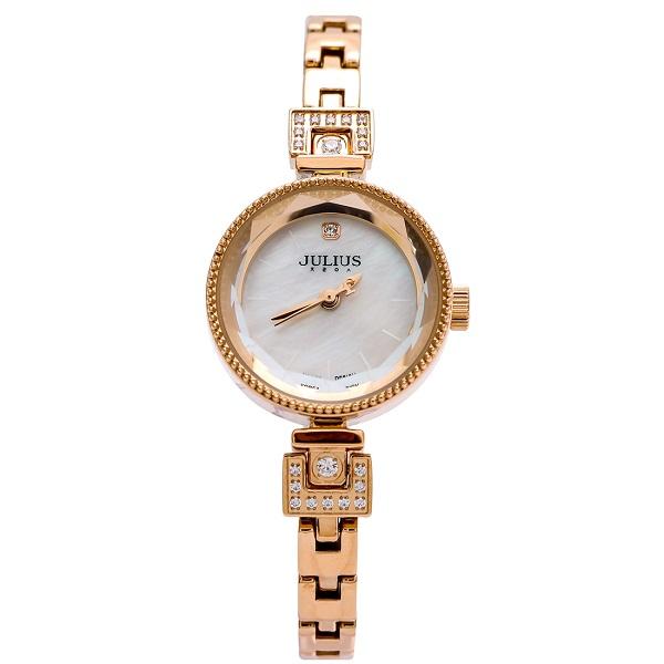 Đồng hồ nữ Hàn Quốc Julius JA-981C ju1236 (Đồng)
