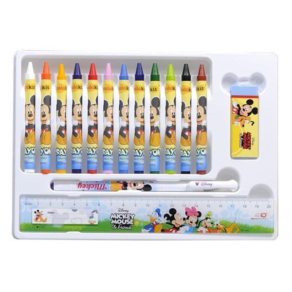 Bộ học cụ và sáp màu Colokit ART-C04/MI