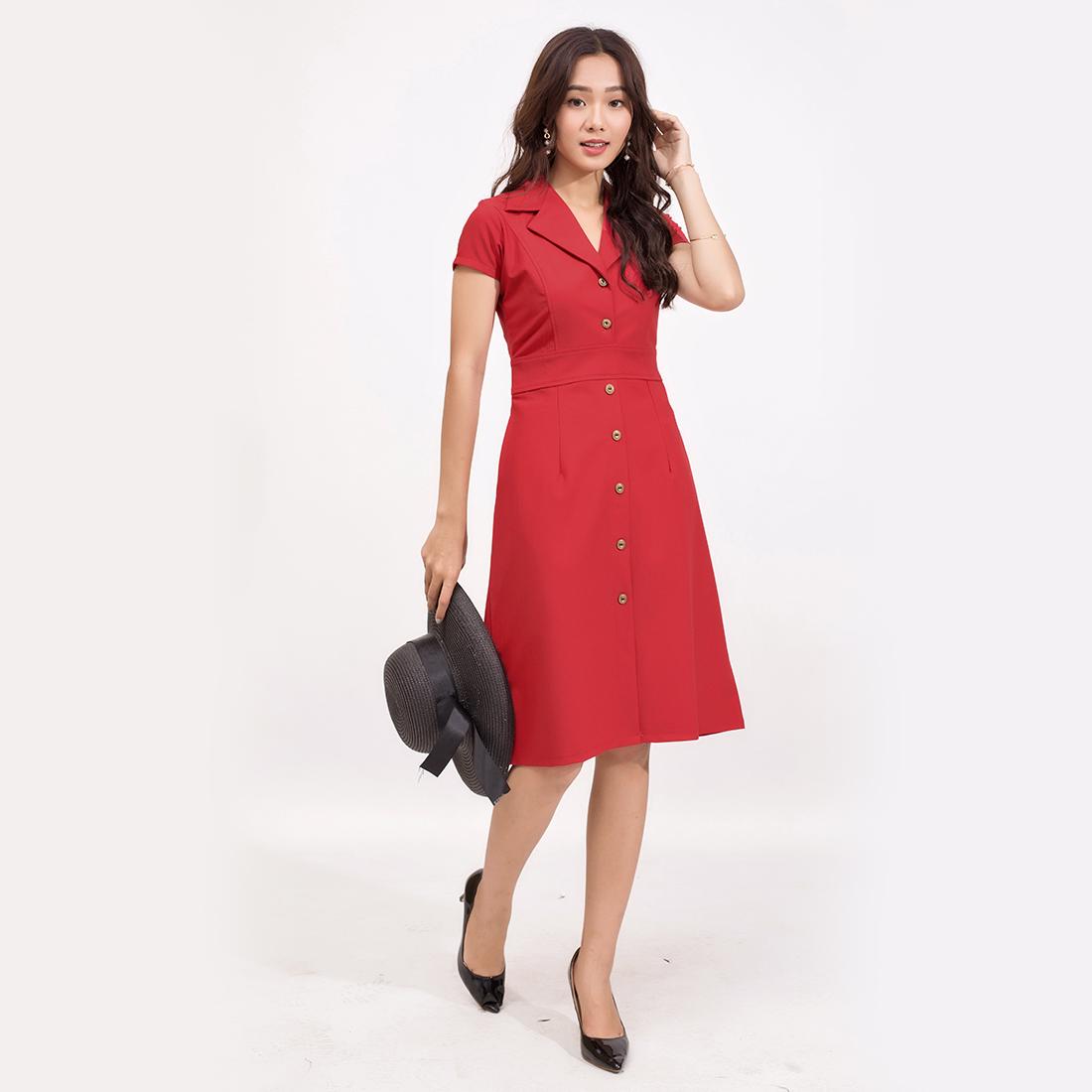 Đầm công sở thời trang Eden – D370