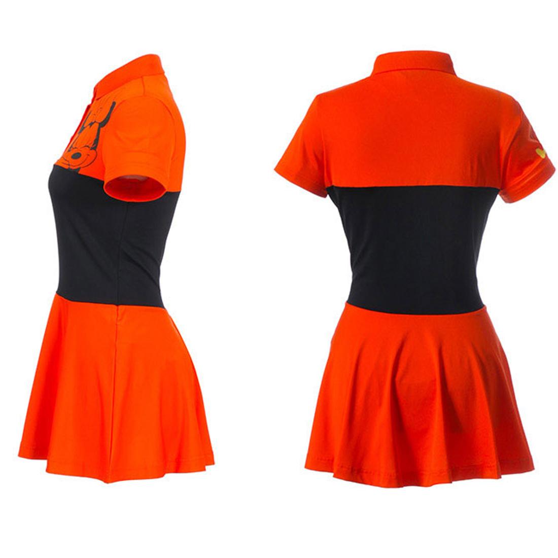 Áo váy Hàn Quốc Disney Golf DG2LTS045 OR