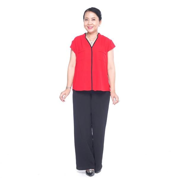 Áo kiểu nữ trung niên – UPAR38