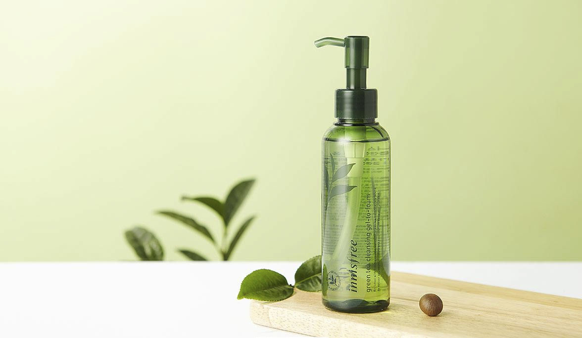 Dầu Tẩy Trang Trà Xanh Innisfree Green Tea Fresh Cleansing Oil ảnh1