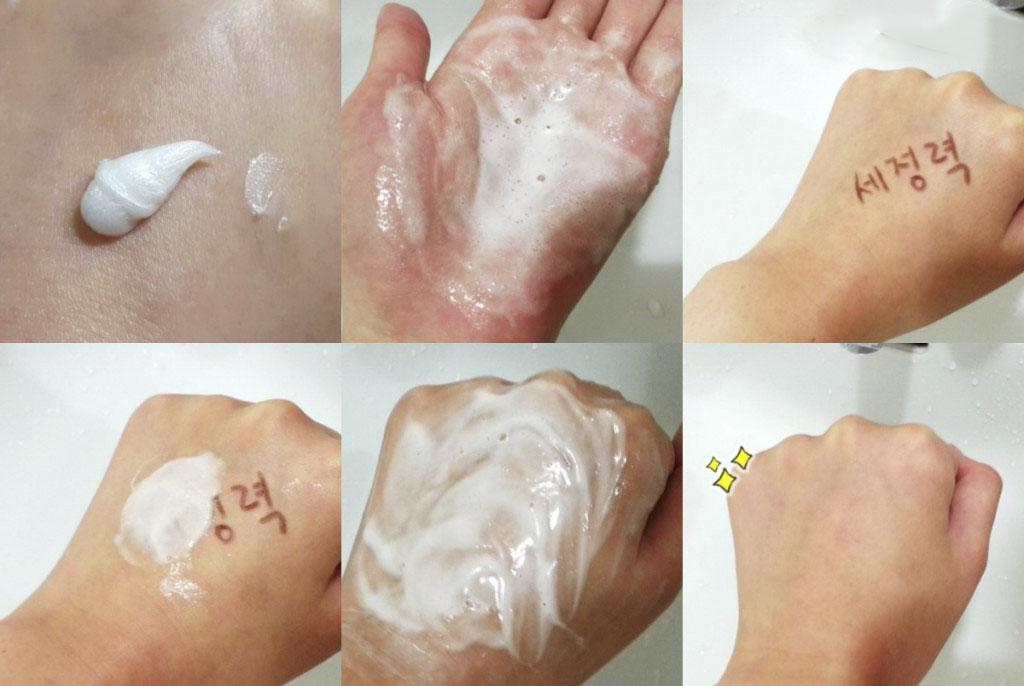 Sữa rửa mặt táo xanh Innisfree Apple Juicy Deep Cleansing Foam ảnh3