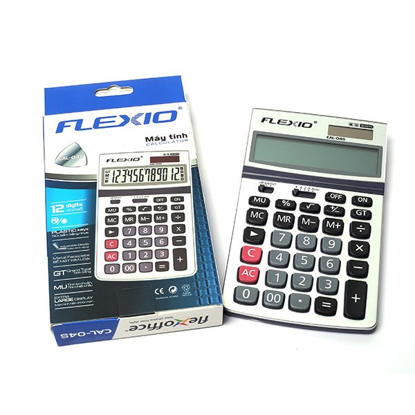 Máy tính Flexoffice FLEXIO CAL-02S - Trắng