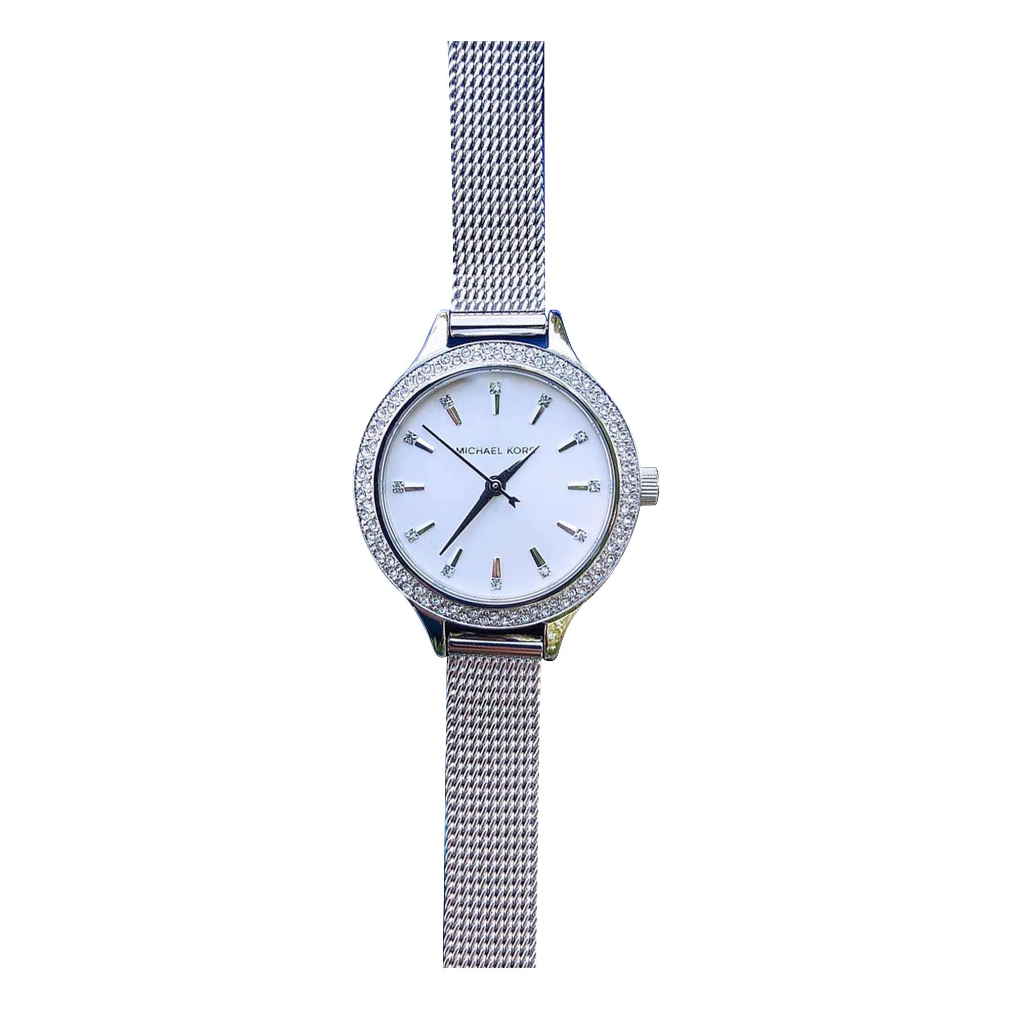 Đồng hồ nữ chính hãng Michael Kors MK3953 bảo hành toàn cầu - Máy pin dây thép không gỉ
