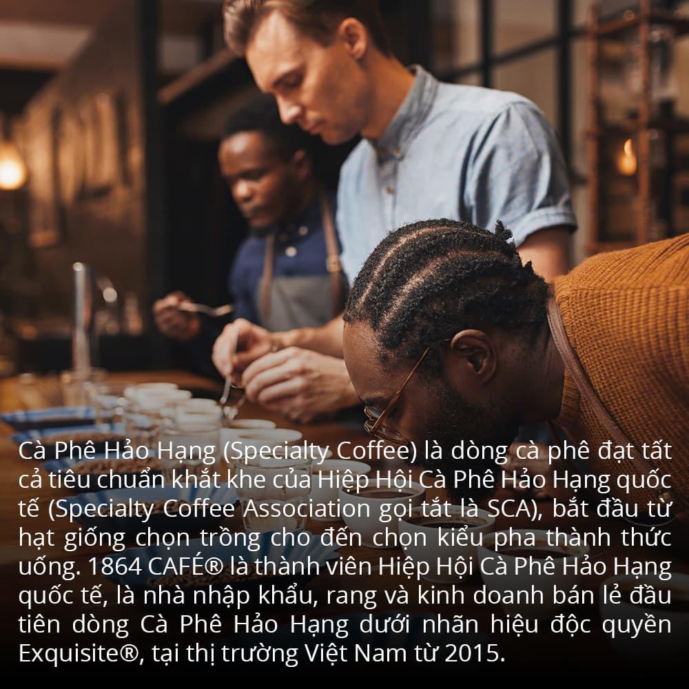 Gói 120g Specialty coffee nguyên hạt brazil são silvestre cà phê hảo hạng exquisite®