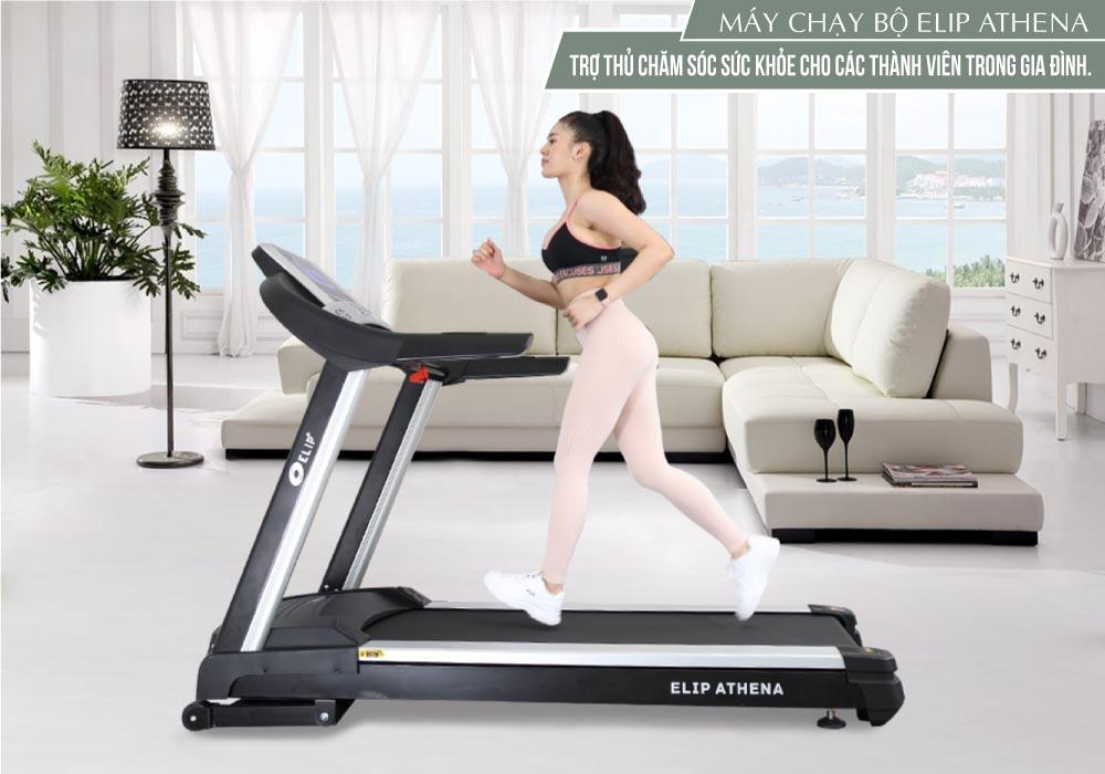 Bật mí cẩm nang rèn luyện sức khỏe tại nhà với máy chạy bộ