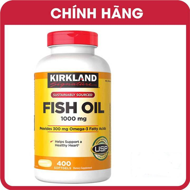 Kirkland Signature™ Omega-3 Fish oil 400 Tabs