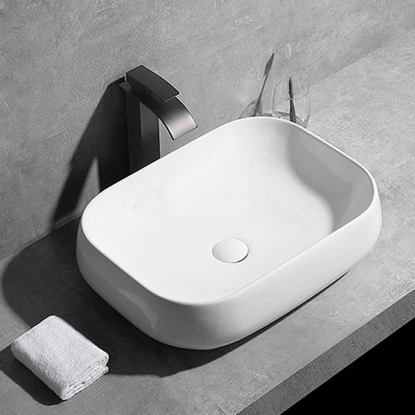 Chậu lavabo đặt bàn Zento LV6144 (sản phẩm chỉ ship tại HCM...
