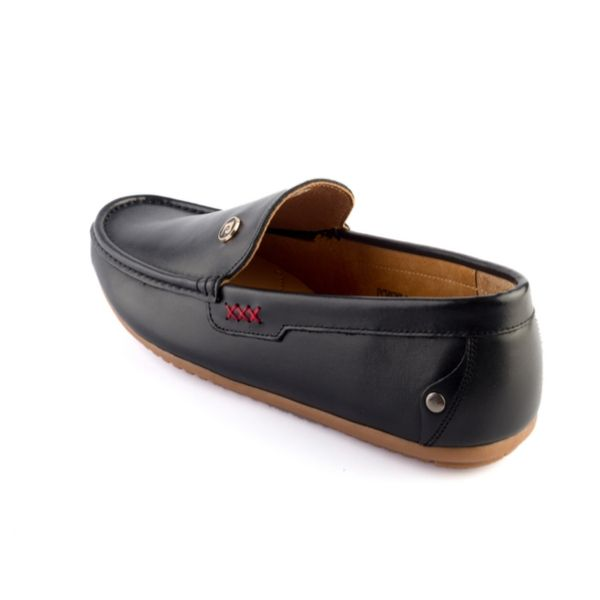 Giày da Pierre Cardin Black Loafer – PCMFWLD084BLK màu đen