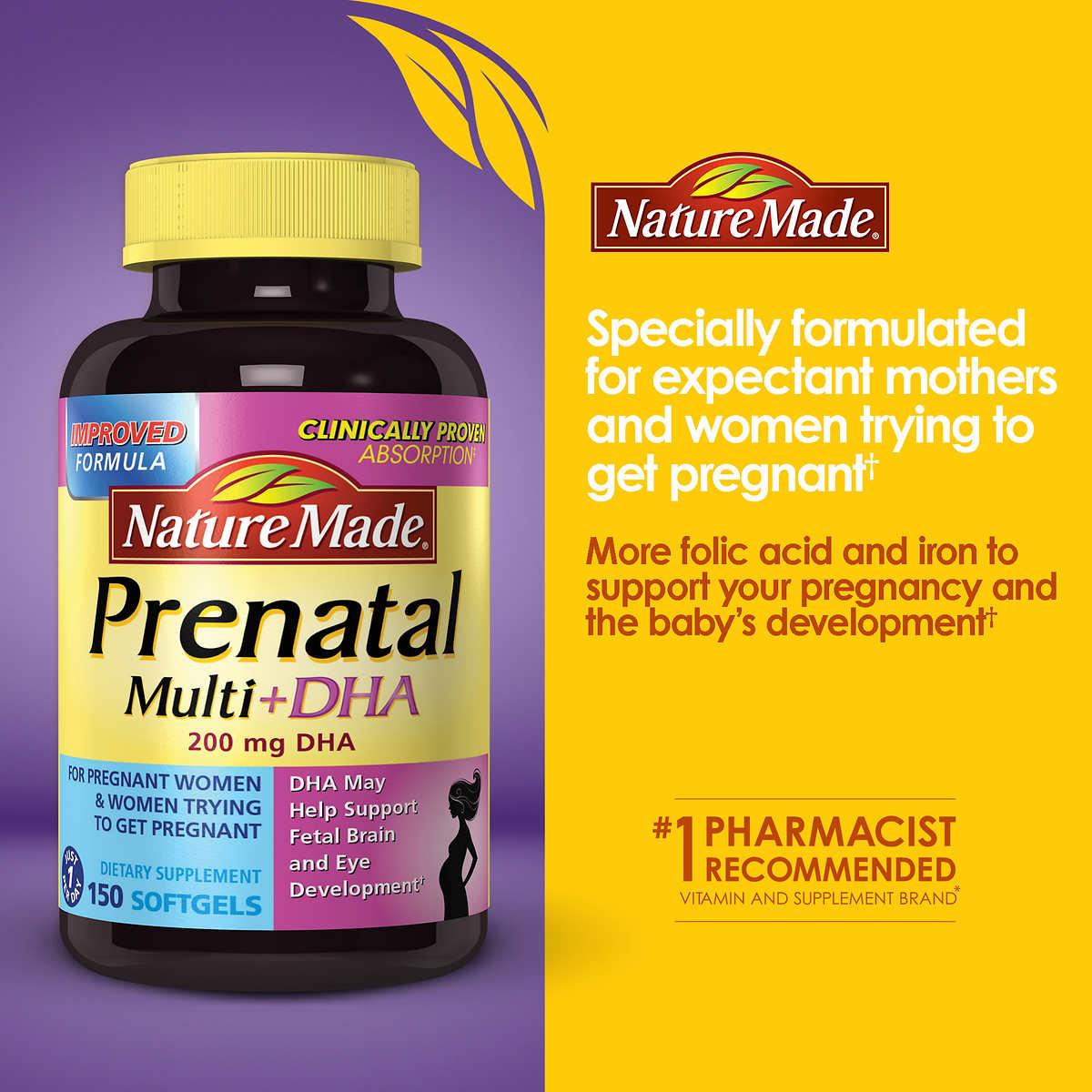 Nature Made® Prenatal Multi DHA