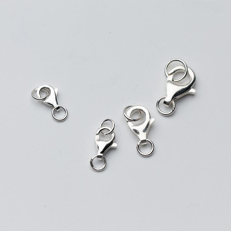 Charm bạc hình cua nhỏ mặt treo