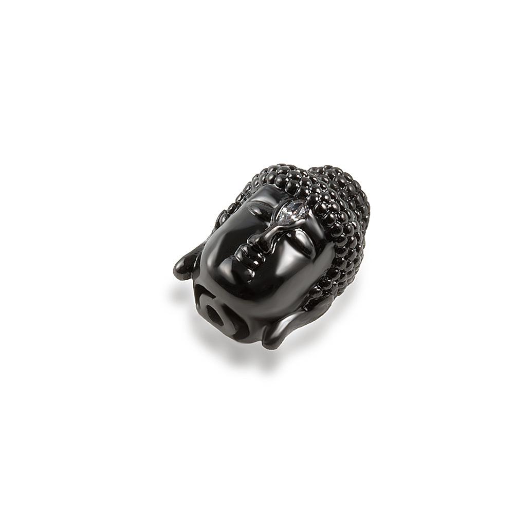 Charm đầu sói đính đá – Ngọc Quý Gemstones