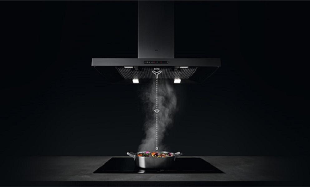 Chức năng Hob²Hood: Kết nối tự động bếp và hút mùi AEG