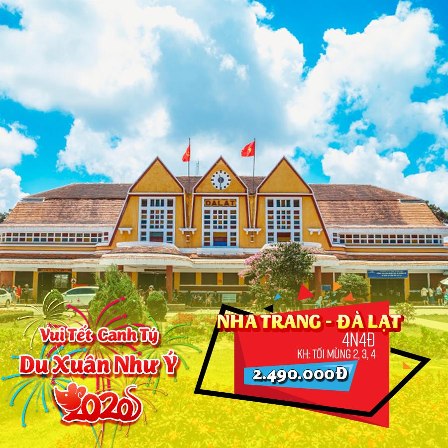 Tour Nha Trang - Đà Lạt 4N4Đ Tết Nguyên Đán 2020