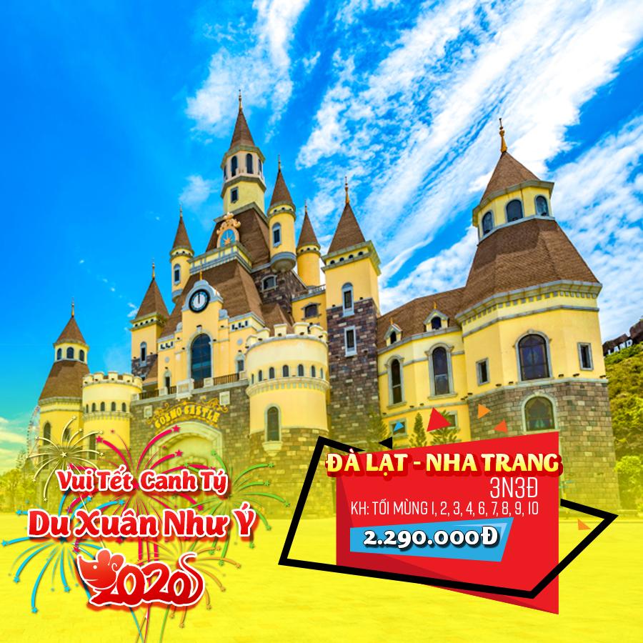 Tour Đà Lạt - Nha Trang 3N3Đ Tết Nguyên Đán 2020